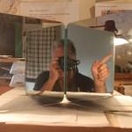 Non-inverting mirror